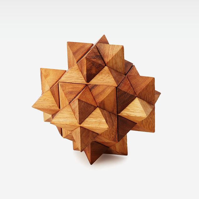 Picture of Wooden 3D Puzzle